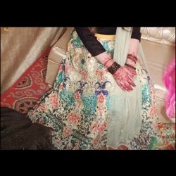 lehnga multi colour
