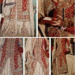 Wedding dress baraat