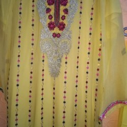 Fancy embroidered suit