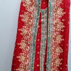 Embroided bridal lehnga