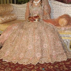 Beautiful Bridal maxie With Large flare