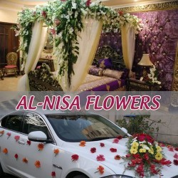 Car and Room Flower decoration