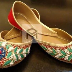 Hand-Embroidered Khussa-SK0001 -